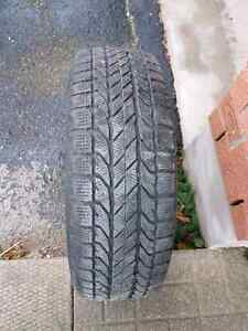 Good condition winter tires with rims. Kitchener / Waterloo Kitchener Area image 2