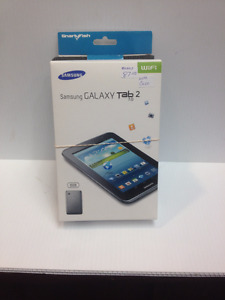 Samsung Galaxy Tab 2 with tablet case