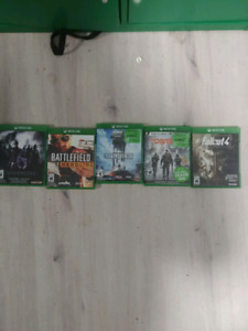 Shooter games collection ($50/5 games )