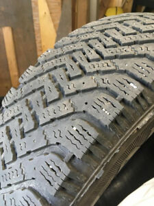 Set Of 4 Goodyear Nordic Winter Tires - 225/65/R17