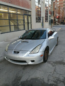Reliable silver standard Celica GT TRD 2001 for only 2000$!