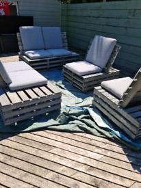 Garden pallet furniture for sale