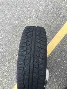 185/65R15 Winter wheels 4x100 Oakville / Halton Region Toronto (GTA) image 2