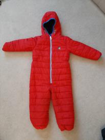 4-5 Next Winter snow suit puddle suit