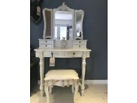 Shabby Chic Dressing Table (new)