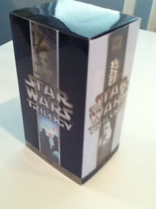 Star Wars Trilogy VHS - comme neuf (Anglais)