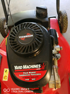 Yardmachines lawn mower , works very well  for$100