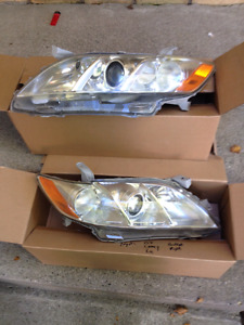 07 Toyota Camry Le headlights