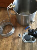 Wort kettle and mash tun all in one plus extras