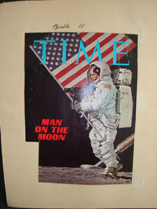 The Apollo Missions 7 to 15 Set of 3 Scrap Books Dated 1969-71