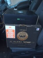 Reduced price for my 10inch JLW7 and HD 750/1 amps