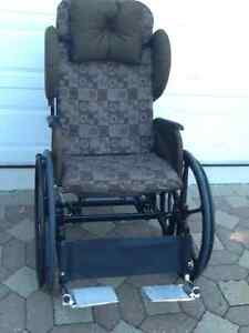 Wheel chair rocker