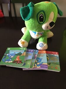 Leap frog Scout read with me