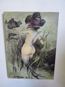 Vintage Mermaid paintings