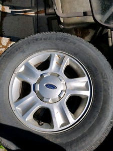 Ford escape rims and tires