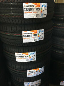 235-60-17,NEW ALL SEASON TIRES ON SALE for $80 each
