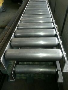 Heavy Duty Roller Conveyor Lanes - NEW