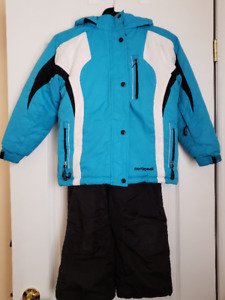 Kids Winter Coat Size 7-8 and Pants