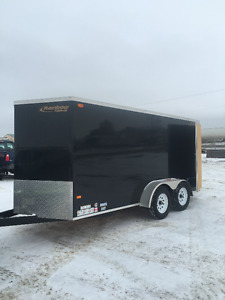 2015 Rainbow cargo trailer (Showroom Condition )
