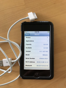 8GB iPod Touch (older model)