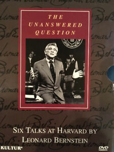 The Unanswered Question - Leonard Bernstein - DVD set