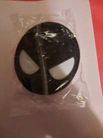 Black spider poppet £5