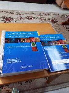 divers manuels scolaire