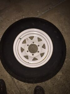 Spare Trailer Tire ST225/75R15