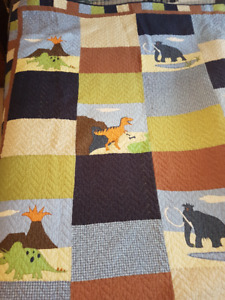 Fun Dinosaur Quilt and Bedding!