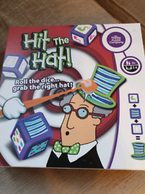 Hit the hat board game for families