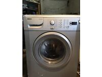 Beko silver washing machine 7kg