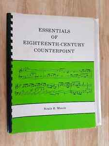 Music Counterpoint Studies