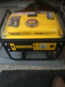 Champion 1500/1200 generator
