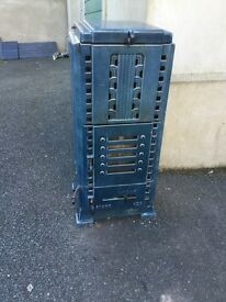 Antique French stove faure *rare Art Deco *