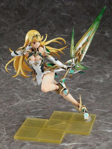 Anime Xenoblade Chronicles 2 Mythra Hikari Figure Figurine New No Box 27cm