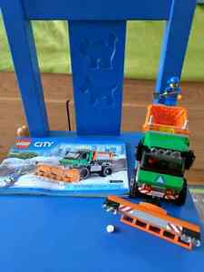 Lego City - snow removal truck