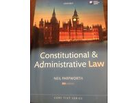Oxford's Constitutional and Administrative Law by Neil Parpworth 8th Editoom