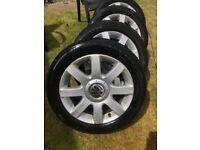 Volkswagen vw golf wheels alloys 5x112 mk5