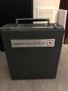 Panasonic 4 Track Stereo Tape Recorder