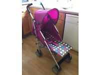 NEW STROLLER COSYTOES RAINCOVER COST 149