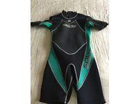 Men's wetsuit size large