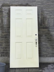 **Metal Exterior Entrance Door**