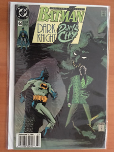 BATMAN #454 September 1990 Comic Book