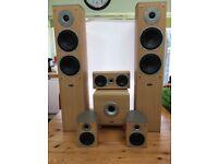 Eltax 5.1 surround speaker set