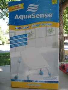 AQUASENSE Bath Seat London Ontario image 1