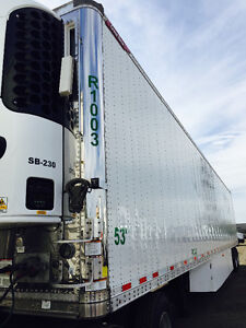 2015 GREAT DANE FLAT FLOOR REEFER TRAILER