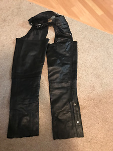 Joe Rocket Men's Motorcycle Riding Jacket and Leather Chaps