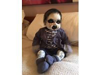 Scarey Halloween one off baby (willing to take offers)