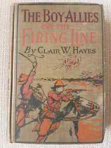 Antique Hardcover - The Boy Allies On the Firing Line