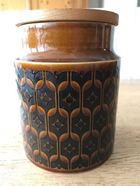 Hornsea Heirloom Brown Pottery Container